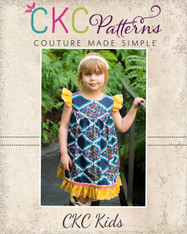 Moxie's Flutter Dress Sizes NB to 14 Girls PDF Pattern