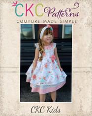 Rosabella's Ruffle Neck Dress PDF Pattern