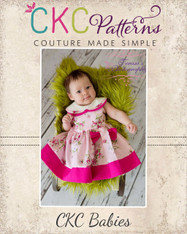 Gayle's Baby Graceful Garden Dress PDF Pattern