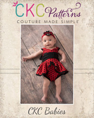 Bunny's Baby Bow Front Dress and Romper PDF Pattern