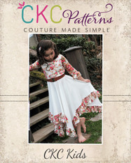 Starlyn's Ruffled Dress Sizes NB to 14 Girls PDF Pattern