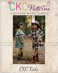 Mariposa's Winged Top and Dress Sizes 2T to 14 Girls PDF Pattern