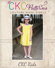 Sue Ellen's Smocked Bishop Top, Dress, and Romper Sizes NB to 14 Girls PDF Pattern