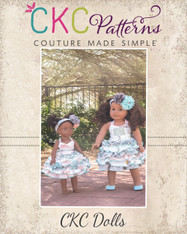Dawn and Stacy's Doll Sizes PDF Pattern