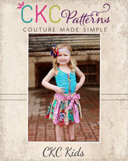 Darby's Knit Gathered Tank Sizes 2T to 14 Girls PDF Pattern