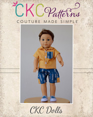 Quade's and Porter's for Dolls Pattern PDF Pattern
