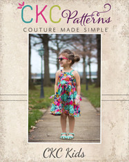 Pansy's Pocket Top and Sundress Sizes NB to 14 Girls PDF Pattern