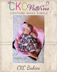 Lorraine's Babies Button Up Dress PDF Pattern