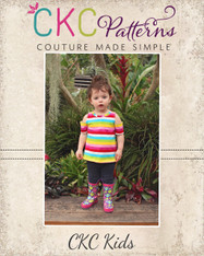 Monica's Cold Shoulder Top and Dress Sizes 2T to 14 Girls PDF Pattern
