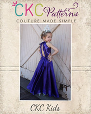 Beth's Beautiful Bias Maxi Sizes 2T to 14 Girls PDF Pattern