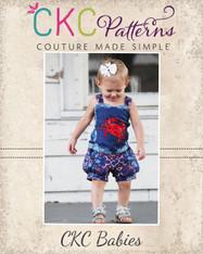Brooke's Baby Bubble Shorts PDF Pattern