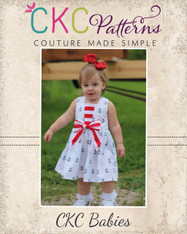 Azalea's Babies Piped Panel Dress & Tunic PDF Pattern