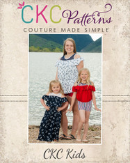 June's Summer Jumper Sizes 2T to 14 Girls PDF Pattern
