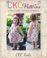 Lynlee's Top, Dress, and Maxi Sizes NB to 14 Kids PDF Pattern