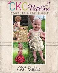 Honey's Babies Tie-Back Dress, Maxi and Romper PDF Pattern