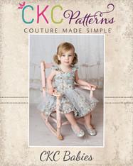 Tayana's Baby Tulle Dress PDF Pattern