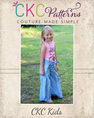 Willa's Wrap Shorts, Capris, and Pants Sizes 2T to 14 Kids PDF Pattern