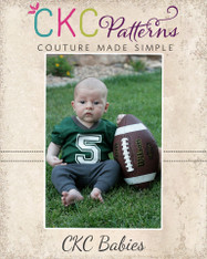 Jerry's Baby Football Jersey PDF Pattern