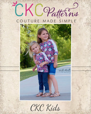 Laurel's Lace Raglan Sizes 2T to 14 Girls PDF Pattern