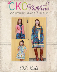 Talia's Tie Dress & Top Sizes 2T to 14 Kids PDF Pattern