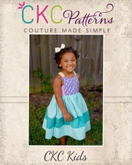Bay's Braided Back Sundress Sizes 2T to 14 Kids PDF Pattern