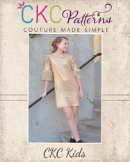 Nelda's Knit Dress and Top Sizes 2T to 14 Girls PDF Pattern