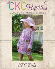 Darla's Drop Waist Dress and Tunic Sizes 2T to 14 Girls PDF Pattern
