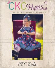 Maylee's Bow Hem Dress PDF Pattern