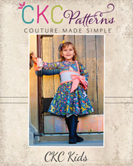 Legacy's Little Lady Dress Sizes 2T to 8 Girls PDF Pattern