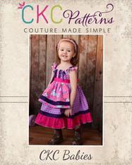 Amorette's Baby Lovely Knot Dress PDF Pattern