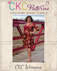 Shannon's Faux Wrap Top, Dress, and Maxi Sizes XXS to 4X Women PDF Pattern