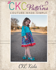 Eden's Everything Dress Sizes 2T to 14 Girls PDF Pattern