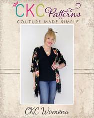 Kendra's Kimono Sizes XXS to 3X Women PDF Pattern