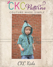Aaron's Hooded Woven Shirt PDF Pattern