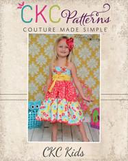 Suzie's Twirly Halter Top and Dress PDF Pattern