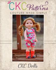 Desirae's Romper Doll sizes PDF Pattern