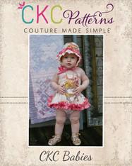 Hyacinth's Babies Spring Dress and Romper PDF Pattern