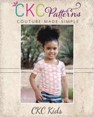 Aszy's Asymmetrical Shirt Sizes 2T to 14 Kids PDF Pattern