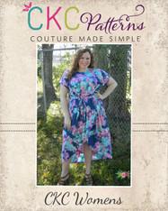 Tamara's Tulip Dress Sizes XXS to 4X Women PDF Pattern