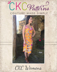 Cersei's Wrap, Crop, Top, and Dress Sizes XXS to 3X Women PDF Pattern