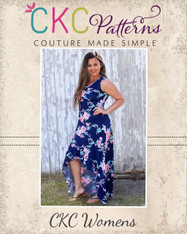 Holland's High-Low Dress Sizes XXS to 3X Women PDF Pattern