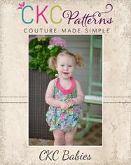 Daisy's Baby Petal Collar Dress, Top, & Romper PDF Pattern