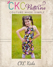 Kaitlyn's Tank Top and Dress Sizes 2T to 14 Girls PDF Pattern