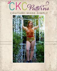 Ingrid's Incredible Leotard Sizes XXS to XL Women PDF Pattern