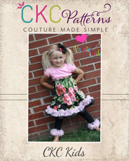 Tiana's Petti Party Dress PDF Pattern