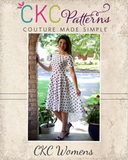 Hillary's High Low Dress Sizes XXS to 3X Women PDF Pattern