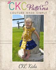 Suri's Sassy Dress Sizes 2T to 14 Girls PDF Pattern