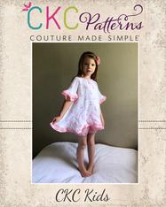 Lantana's Pajama Set Sizes 2T to 14 Girls PDF Pattern
