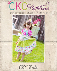 Trinity's Tiered Twirly Dress PDF Pattern