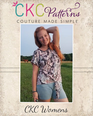 Kenna's Knotted Top Sizes XXS to 3X Adults PDF Pattern